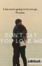 Don't Say You Love Me by chilltfoutbro