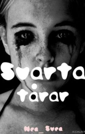 svart tonåring tår