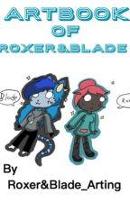 Art Book of Roxer&Blade by RoxerAndBladeArting