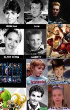 Los Vengadores: De vuelta a la adolescencia by amigamarta16