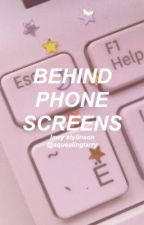 Behind Phone Screens - larry stylinson; internet au. by squealinglarry
