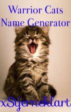 Warrior Cats Name Generator by xStjerneklart