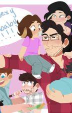 Mark and the baby Grumps by Princess_Kitsuna