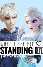 When I See Him Standing There (Jelsa Highschool) by kittykittenkat64