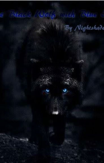 black wolves with blue eyes - photo #11