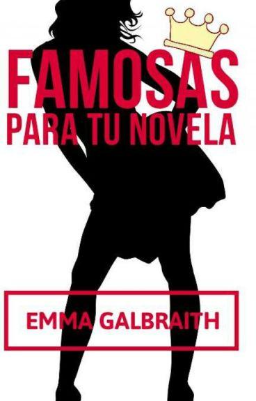 Actrices, modelos, cantantes y, en general, famosas para tus novelas.