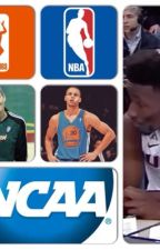 NBA, WNBA, and NCAA basketball imagines by aelizabethb17