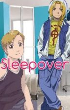 Sleepover (Ed x reader x Al) AU by cuddletaee