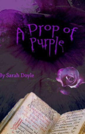 A Drop of Purple by Werecat