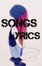Song lyrics by presheilla_1D