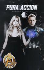 Pura Acción |Capitán América| by xColdAutumnx
