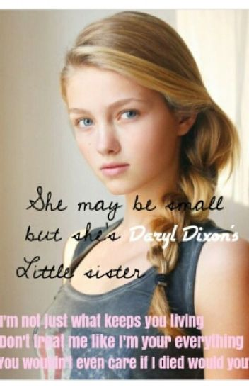 A Small Girl, But She's Daryl Dixon's Sister