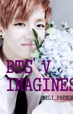 BTS V Imagines by meli_paendeo