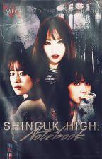 Shinguk High: Notebook by -fluffymonster