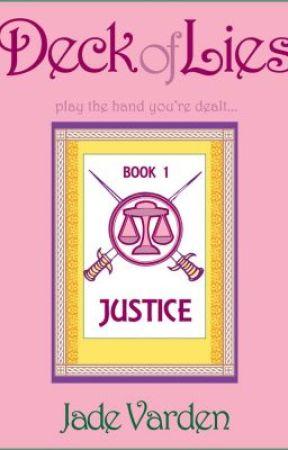 Justice (Deck of Lies, #1) Excerpt by JadeVarden