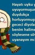 SOĞUK ESPRİLER by SedefSakarya