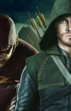 The Flash and Arrow by Kathy_SalvatoreDaley
