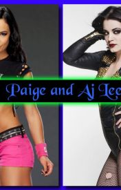 Paige and Aj Lee by ajbrown33
