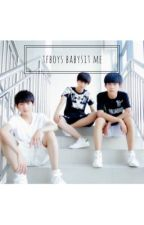 TFBOYS babysit me?! • tfboys by Dxydream0