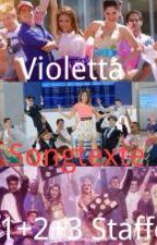 Violetta-Songtexte by violettacastilo