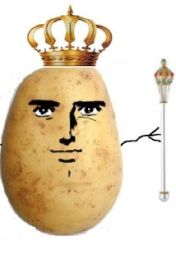 The Non-Fiction Story of Darien  Once Human and Now Potato by DarienThePotato