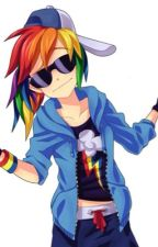 Rainbow Dash x Female! Reader - I'm in love with you by Dashie384