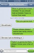 WWE Texts ^.^ by JemmasSunshine