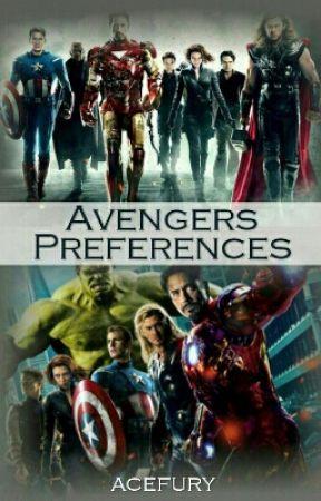 Avengers Preferences - Meeting Him - Crush at First Sight - Wattpad