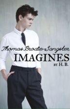 Thomas Brodie-Sangster Imagines by soiwritebooks