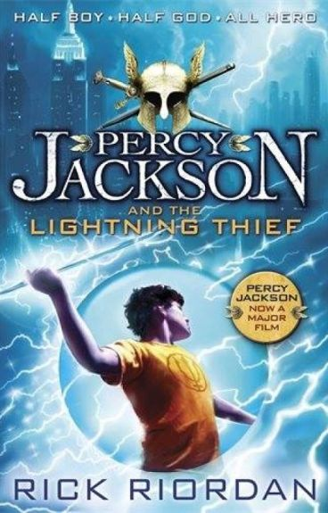 Image result for percy jackson and the lightning thief book