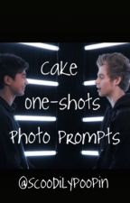 Cake Oneshot photo prompts by Scoodilypoopin