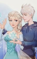 jack frost y la reina elsa by Maritza3933