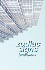 zodiac signs by lunarpilots