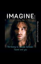 IMAGINE: Kili having to choose between Tauriel and you by Aidanturnerimagines