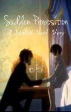 SebaCiel: Sudden Proposition by Ciel_the_Writer