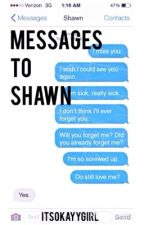 Messages To Shawn //s.m.// by ItsOkayyGirl