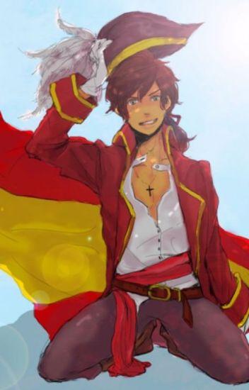 Pirate!Spain x Reader{LEMON}