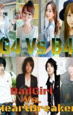G4 vs. B4 (BadGirl vs. HeartBreaker) by yellow_itchi
