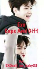 Exo Caps AND Gift by EXOcall_me_baby88