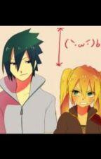 Naruko and Sasuke by Curacle