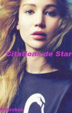 Citations de Stars. by smalldollbroken5