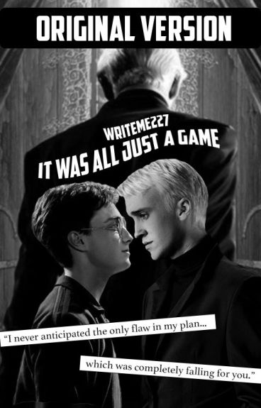 Drarry- It Was All Just a Game