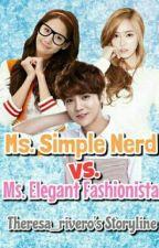 Ms. Simple Nerd Vs Ms. Elegant Fashionista by TheresaRivero