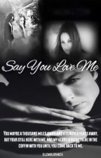 'Say You Love Me' A Damon Salvatore Love Story. Part Of  The 'Epic Love Saga' by ElleMiglioranza