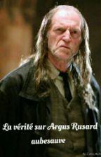 La vérité sur Argus Rusard by Framboise_Bleue