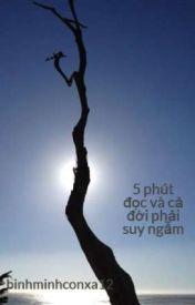 Đọc Truyện 5 phút đọc và cả đời phải suy ngẫm - binhminhconxa12