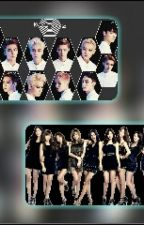 9 WITCHES WITH EXO AGENTS ( SNSD AND EXO by BAEKYEON_FOREVER-KB