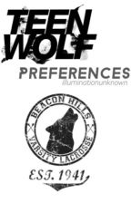 Teen Wolf Preferences by illuminationunknown