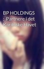 BP HOLDINGS :  Partnere i det Karibiske Havet by AndriaClinton