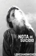 Nota de suicidio by lovesandwiches